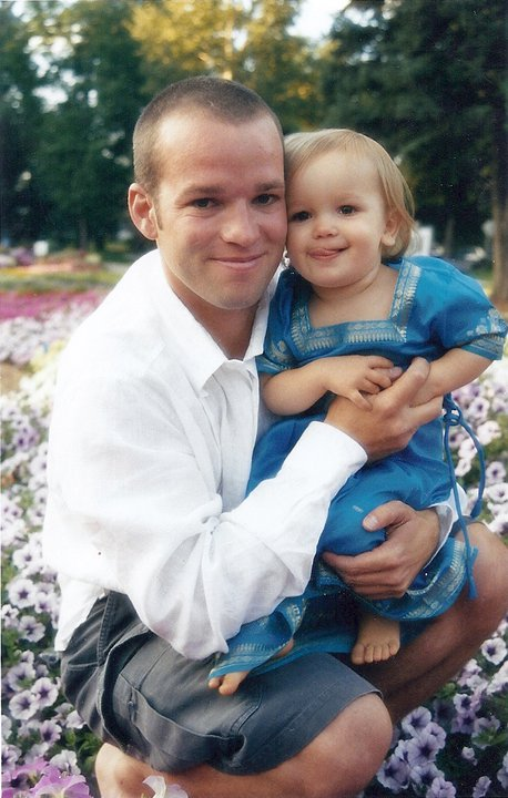Gracie and her Daddy