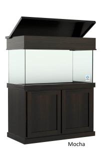 125 gallon Aquariu with Classic Style Aquarium Cabinetry