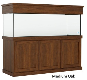 215 Gallon Aquarium with a Classic Style Stand and Canopy